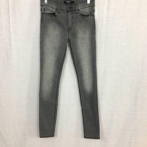 Hudson Nico Super Skinny Gray Jean